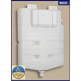 Caixa Descarga Montana M9000 De Embutir Acabamento Branco