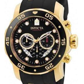 dcfa50ae3b1 Relogio Invicta Pro Diver 6981 Ouro 18k - Relógios no Mercado Livre ...