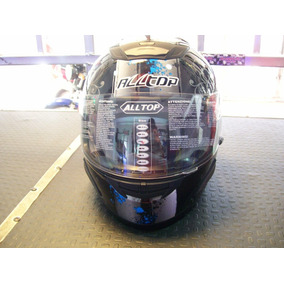 Casco Integral All Top Escorpion Negro/azul Negro/rojo Mpr
