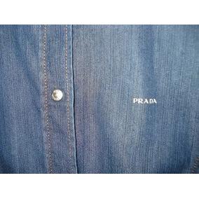 Camisa Prada Mezclilla, Vuitton,gucci,mk,zara,tous