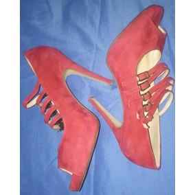 Zapatos Mujer Noche Fuccia