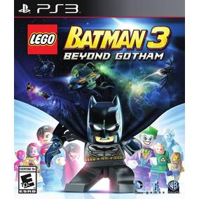 Lego Batman 3 Beyond Gotham Ps3 Español Digital Tenelo Hoy!!