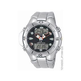 Relógio Citizen Cronógrafo Masculino Prateado Tz10020d