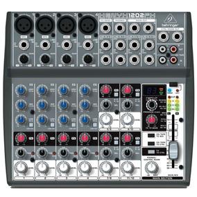 Mesa De Som Behringer Xenyx 1202fx Mixer 12 Canais . Loja !