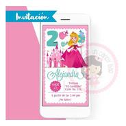 Invitación Digital Princesa Aurora Disney