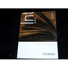 Interpretação De Texto Volume Único Poliedro Pré Vestibular