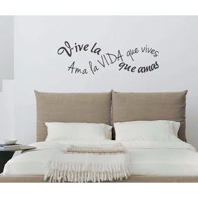 Vinilos decorativos pared dormitorios vinilos - Vinilos frases para dormitorios ...