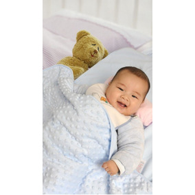 Cobija Hipoalergenica Para Bebe Tipo Burbujas