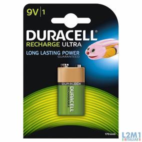 Bateria Duracell 9v 170mah Ultra Recarregavel