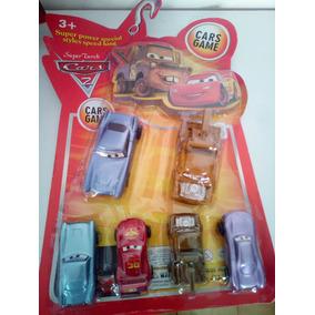 Cars Carros 6 Piezas Para Niños