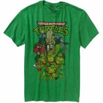 Remeras Tortugas Ninja Y Villanos Originales Importad Nuevas