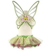Disfraz Para Niña Traje De Hadas De Disney Tinkerbell Tutu
