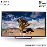 Smart Tv 40 Sony Bravia W65 D (full Hd / Led)