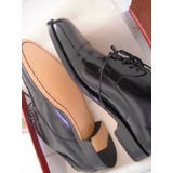 Zapatos Negros De Patente Marca Cole Haan 10 1/2 Caballero
