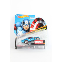 3 Blisters Hot Wheels Marvel Superman Capitan America Spider