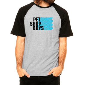 Pet Shop Boys - Camiseta Raglan Eletronica Dance New Order