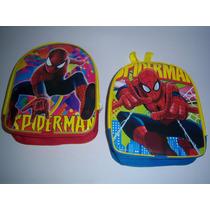 Mochilas Dulcero Libros Stickers Hombre Araña Spiderman