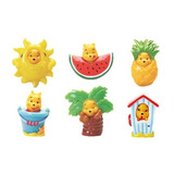 Winnie Pooh Peek-a-pooh Verano Splash Cápsula Juguetes 6 Pi