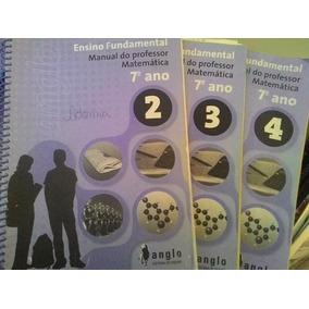 Livros Ensino Fundamental -matemática 7º Ano - Volumes 2/3/4