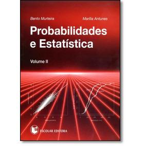 Probabilidades E Estatística - Vol.2