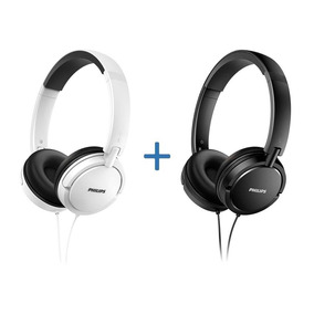 Combo Auriculares Philips Shl5000 X 2 Unidades