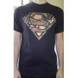 8 Remeras Dc Comics Originales Superman Importada Man Steel