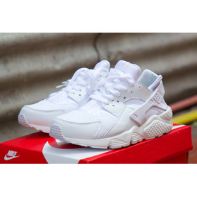 Zapatillas Air Huarache All White 2018 Importadas Unicas