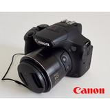 Cámara Canon Sx60 Hs Con Accesorios