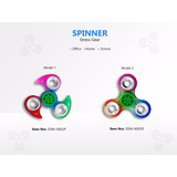 Fidget Spinner Pvc Engranes De Metal Por Mayor Y Menor