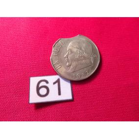 Moneda Con Error Un Peso Morelos 1982 Clipet #61