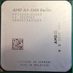 Processador Amd A4-3300 + Radeon Hd 6410d Socket Fm1