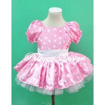 Disfraz De Minnie Para Bebas Y Niñas