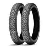Kit De Cubiertas Michelin 325 18 + 90 80 16 M45 En Fas Motos