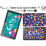 Tablet Kanji Cata Pantalla Led 7 1gb Ips 8gb Wifi C/funda