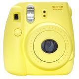 Nuevo Modelo De Fuji Instax 8 Color Amarillo Fujifilm Insta