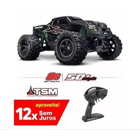 X-maxx Traxxas 8s Tsm Tra77086-4-grn