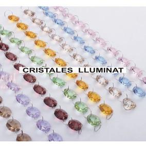 1400 Octagones De Cristal Colores Candil Cortinas Decoracion
