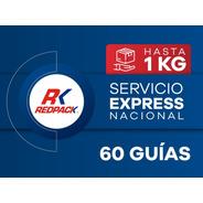 60 Guías Prepagadas Express Hasta 1 Kg