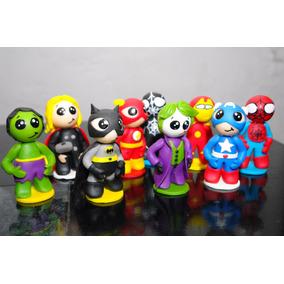 Muñecos Super Heroes Porcelana Fria