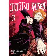 Mangá Jujutsu Kaisen - Batalha De Feiticeiros Vol 3 + Brinde