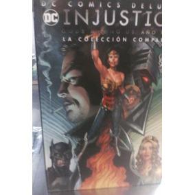 Injustice Año 3 Televisa Pasta Dura Dc Deluxe Español