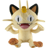 Meowth Peluche Pokemon 8 Pulgadas Meowth