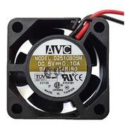 10un. Cooler Micro Ventilador 25x25x10mm 5v Rolamento Duplo