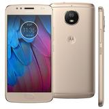Celular Motorola Moto G5s 32gb 4g Biome Me Octacore + Pelicu