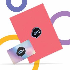 Tarjeta Oh! Gift Card $500. Holder Rojo
