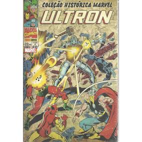 Colecao Historica Marvel Vingadores 4 Bonellihq Ultron Cx101