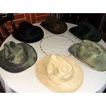 Sombreros Legítimos Pelo E Guama (hückel Dama Y Caballero)