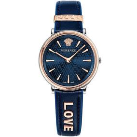 Reloj Versace Blue Manifesto Love Unisex Vcirclew09
