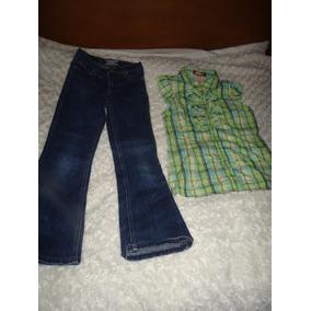 Blusa Paris Blues Y Pantalon Limited Too Talla 8