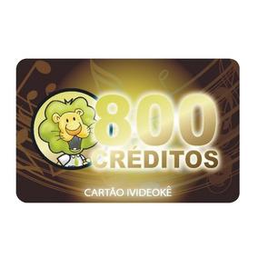 Videokê Cartão 800 Créditos Libera Na Hora On-line Wmusic